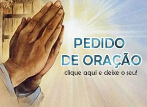 Pedido de Oração para Nossa Senhora