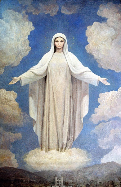 Maria na igreja