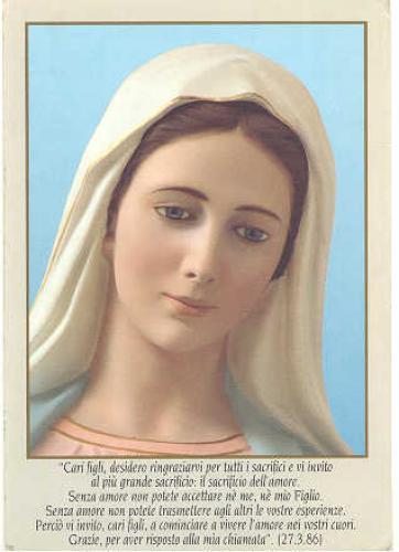 Mensagem de Nossa Senhora em 25 de fevereiro de 2014