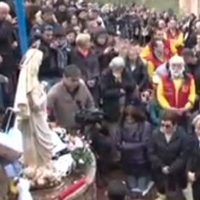 Aparição de Mirjana em 2 de dezembro de 2012 a Cruz Azul