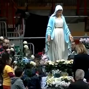 Aparição de Marija em 02 de dezembro de 2012 em Varese - Itália