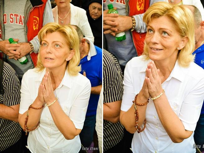 Vidente Mirjana na Aparição do dia 02 de Setembro 2014 - Foto by: Dani