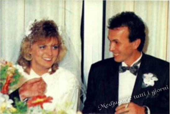 Vidente Mirjana completa hoje 25 anos de casada !!