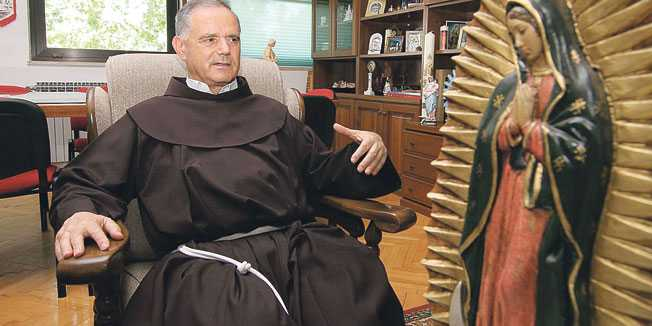 Padre Jozo responde: Ainda tenho algo a falar sobre Medjugorje, mas antes falará o Papa.