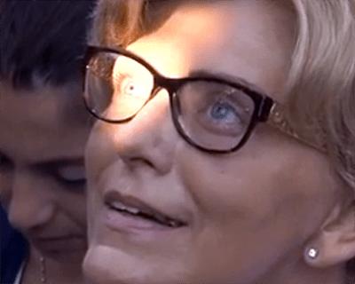 Olhos de Mirjana ficam fixos durante aparição de Nossa Senhora