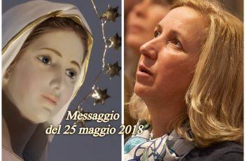 MENSAGEM DE NOSSA SENHORA EM 25 DE MAIO DE 2018