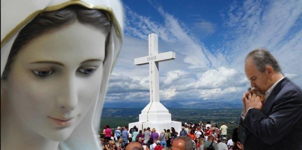 Aparição extraordinária de Nossa Senhora em Medjugorje em 18/10/2019 ao vidente Ivan Dragicevic